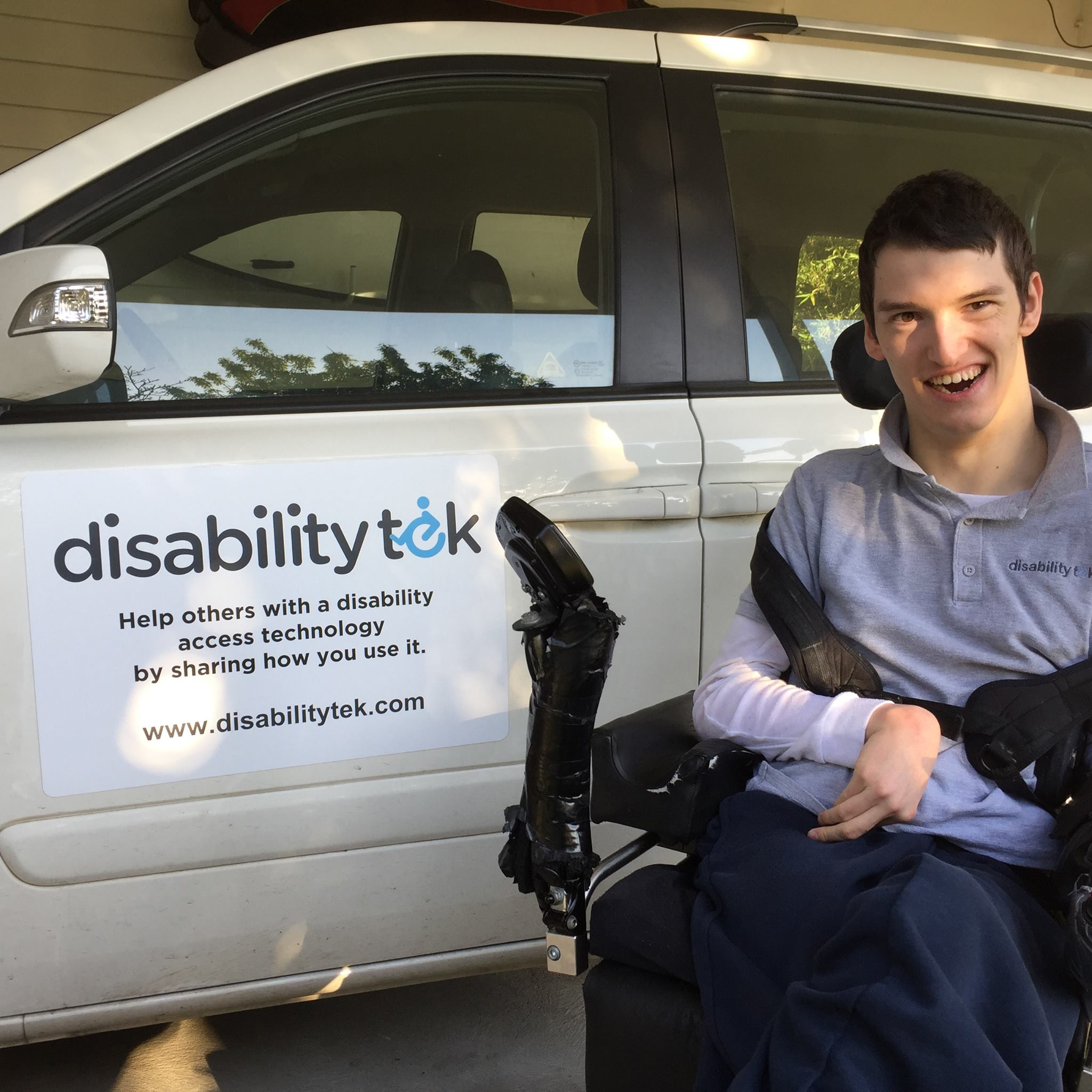 Noah Callan, founder of Disability Tek